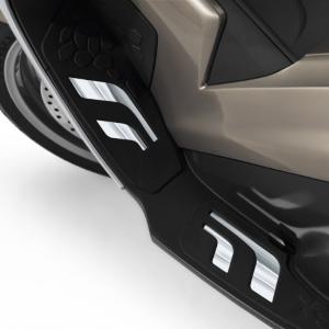 Trittbretteinsatz verchromt für BMW C 650 GT