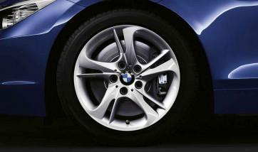 BMW Alufelge Turbinen-Styling 292 silber 8,5J x 17 ET 40 Hinterachse BMW Z4 E89