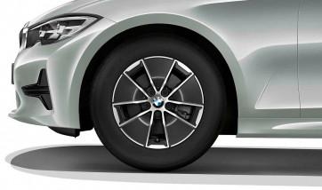 BMW Alufelge Turbinenstyling 773 orbitgrey 6,5J x 16 ET 22 Vorderachse / Hinterachse 3er G20 G21