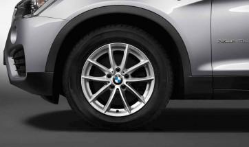 BMW Alufelge V-Speiche 304 reflexsilber 7,5J x 17 ET 32 Vorderachse / Hinterachse X3 F25 X4 F26
