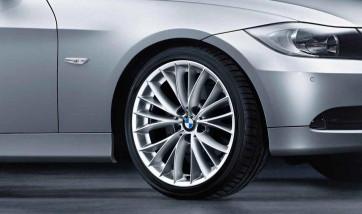 BMW Alufelge V-Speiche 342 8,5J x 18 ET 37 Spacegrau Hinterachse BMW 3er E90 E91 E92 E93