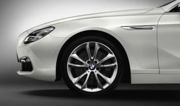 BMW Alufelge V-Speiche 366 silber 8,5J x 19 ET 33 Vorderachse / Hinterachse BMW 5er F10 F11 6er F06 F12 F13