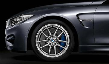 BMW Alufelge M V-Speiche 513 silber 9J x 18 ET 29 Vorderachse M3 F80 M4 F82 F83