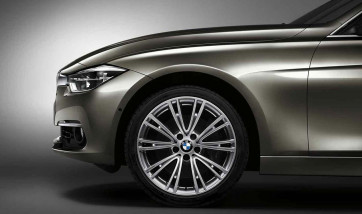 BMW Alufelge V-Speiche 626 glanzgedreht 8J x 19 ET 36 Vorderachse für 3er F30 F31 4er F32 F33 F36