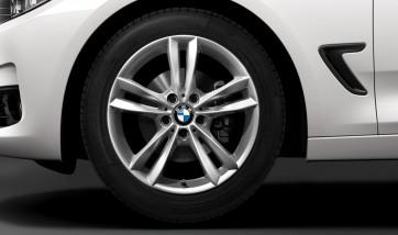 BMW Alufelge V-Speiche 658 reflexsilber 8,5J x 18 ET 47 Hinterachse 3er F30 LCI F31 LCI