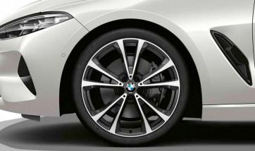 BMW Alufelge V-Speiche 733 orbitgrey 9J x 20 ET 41 Hinterachse 8er G14 G15 G16