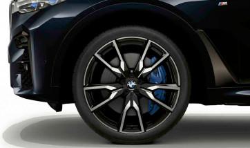 BMW Alufelge V-Speiche 755 ceriumgrey 9,5J x 22 ET 32 Vorderachse X7 G07