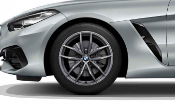 BMW Alufelge V-Speiche 770 ferricgrey 9J x 18 ET 28 Hinterachse Z4 G29