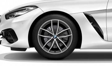 BMW Alufelge V-Speiche 770 bicolor (orbitgrey / glanzgedreht) 8J x 18 ET 20 Vorderachse Z4 G29