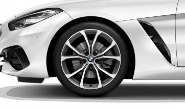 BMW Alufelge V-Speiche 772 ferricgrey 9J x 19 ET 32 Vorderachse Z4 G29