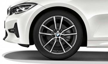 BMW Kompletträder V-Speiche 780 orbitgrey 18 Zoll 3er G20 G21 RDCi