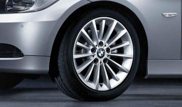 BMW Winterkompletträder Vielspeiche 284 silber 17 Zoll 3er E90 E91 E92 E93