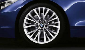 BMW Alufelge Vielspeiche 293 silber 8J x 18 ET 29 Vorderachse BMW Z4 E89