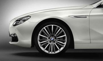 BMW Alufelge W-Speiche 423 silber 9J x 19 ET 44 Hinterachse BMW 5er F10 6er F06 F12 F13