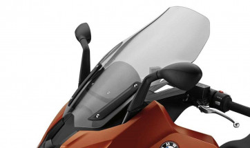 BMW Windschild getönt K18