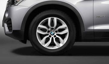 BMW Alufelge Y-Speiche 305 silber 7,5J x 17 ET 32 Vorderachse / Hinterachse X3 F25 X4 F26