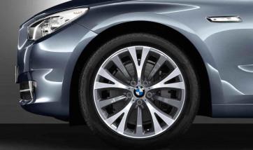 BMW Alufelge Y-Speiche 315 silber 8,5J x 19 ET 25 Vorderachse BMW 5er F07 7er F01 F02 F04
