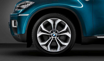 BMW Kompletträder Y-Speiche 336 schiefergrau 20 Zoll X6 E71 E72