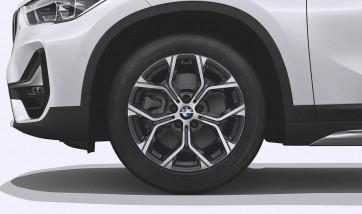 BMW Alufelge Y-Speiche 579 orbitgrey 7,5J x 18 ET 51 Vorderachse / Hinterachse X1 F48 X2 F39