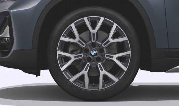 BMW Alufelge Y-Speiche 580 orbitgrey 8J x 19 ET 47 Vorderachse / Hinterachse X1 F48 X2 F39