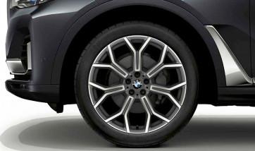 BMW Alufelge Y-Speiche 753 ferricgrey 9,5J x 21 ET 36 Vorderachse / Hinterachse  X7 G07