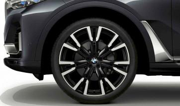 BMW Alufelge Y-Speiche 756 orbitgrey 9,5J x 22 ET 32 Vorderachse X7 G07