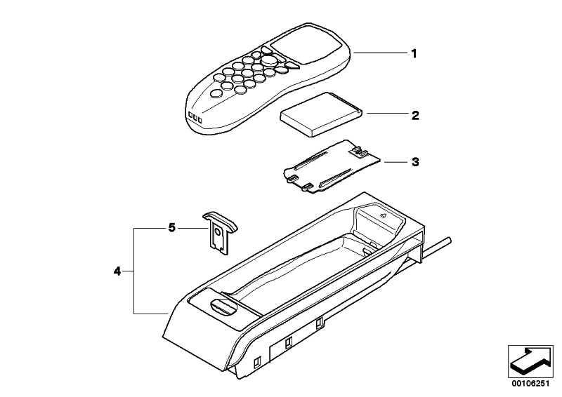 Eject-Box mit Ladeeinrichtung EVEREST         3er 5er X5  (84116936695)