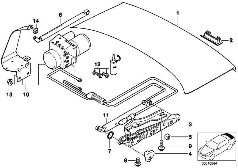Gasdruckfeder 640N            7er  (51248171480)