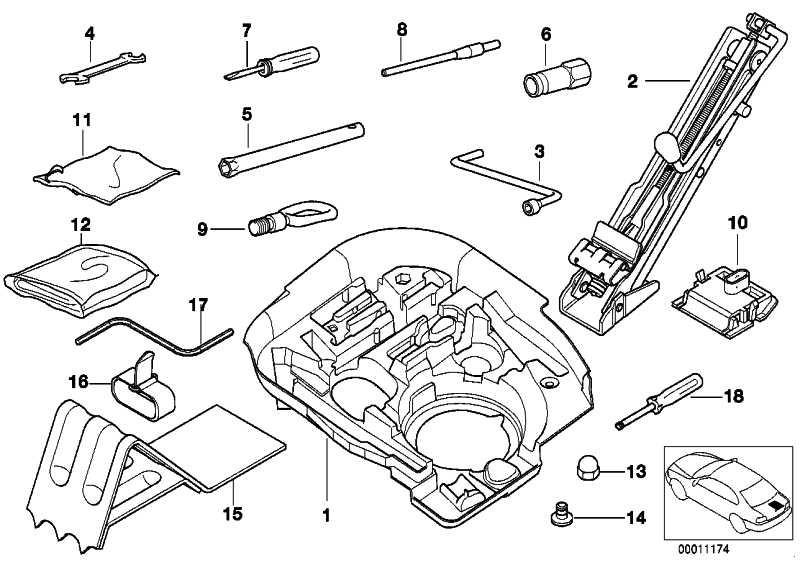 Doppelmaulschlüssel 10-13 1er 3er 5er 7er X5 X6 Z3 Z4 MINI  (71111182747)