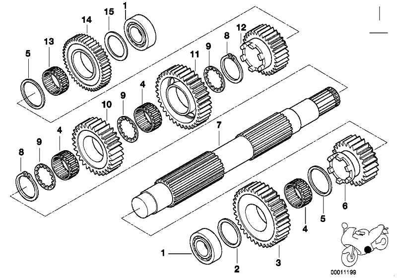 Rillenkugellager Clean Bearing 25X52X15         (23117687089)