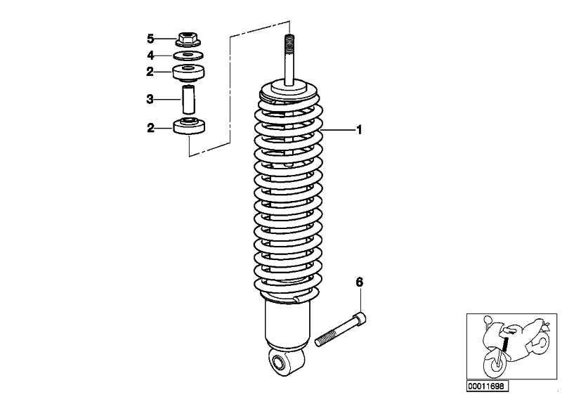 Sechskantmutter M10X1,25  (07119906226)
