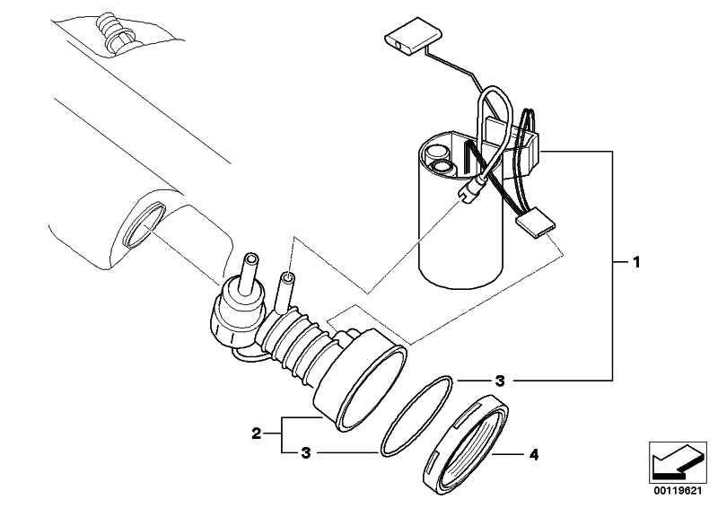 Rep.Satz Kraftstoffpumpe/Füllstandsgeber  Z4  (16117198099)
