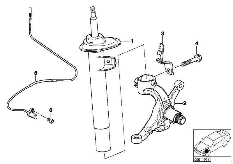 Impulsgeber ABS vorne links  3er Z4  (34526792897)