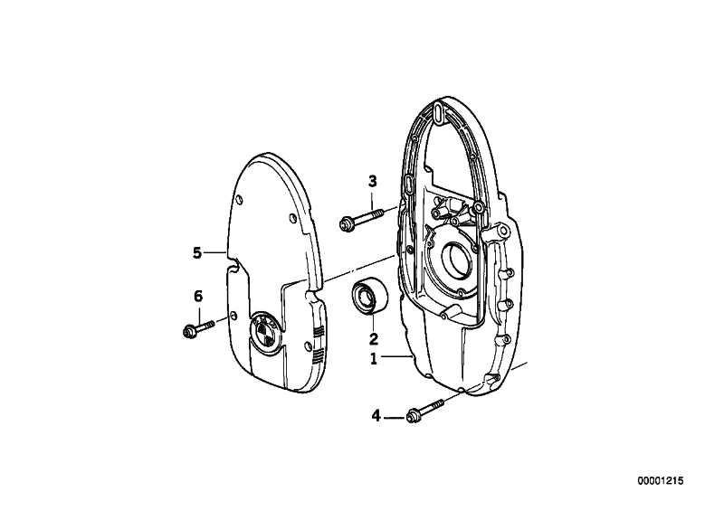 Generatorträgerdeckel silber   (11111341893)