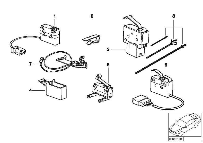Microschalter Totpunktabfrage  3er  (61318357703)