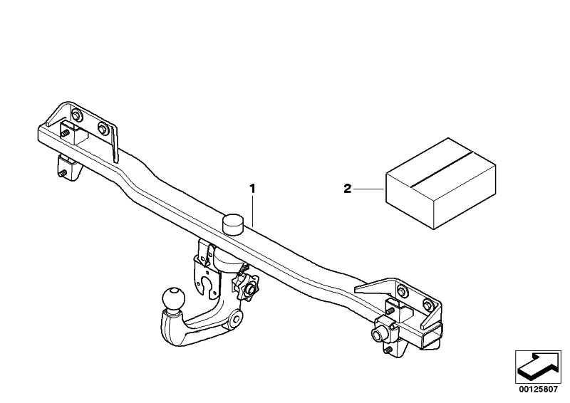 Anhängerkupplung abnehmbar  5er  (71606782128)