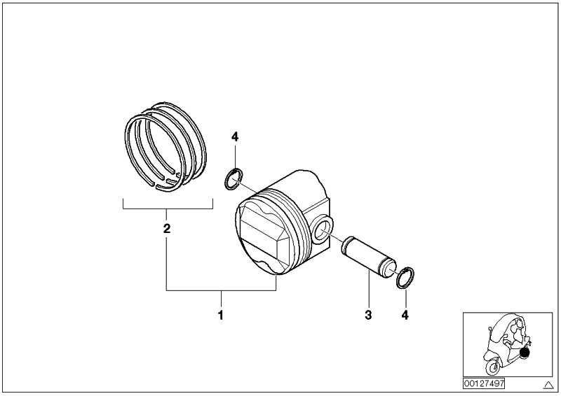 Reparatursatz Kolbenringe   (11257655263)