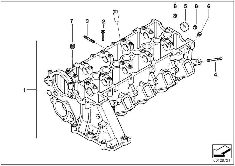 Stiftschraube M7X65-ZNNIV-SI  1er 3er 5er 6er 7er X3 X5 X6  (11127806054)