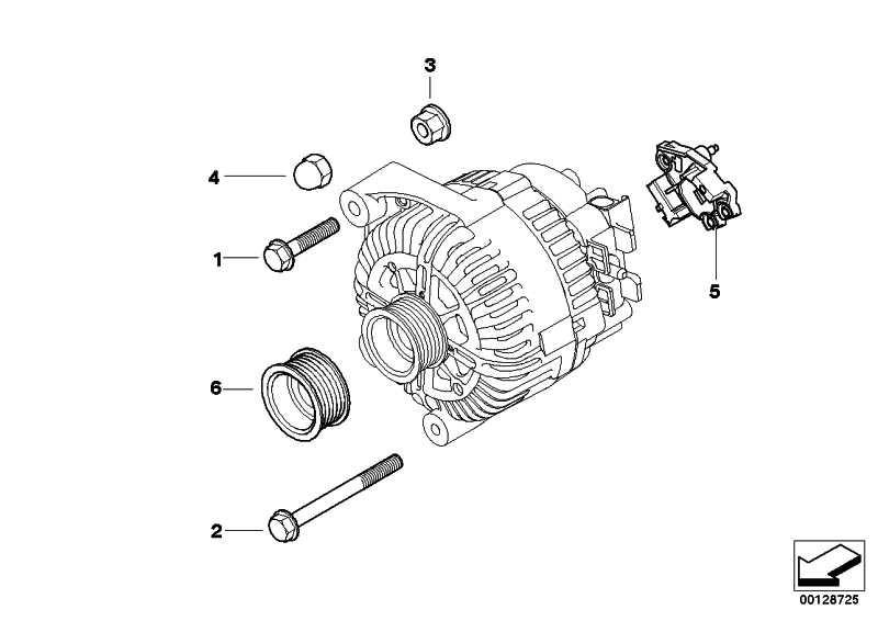 Satz Alu-Schrauben Generator  1er 3er 5er 6er 7er X1 X3 X5 Z4  (12310392568)