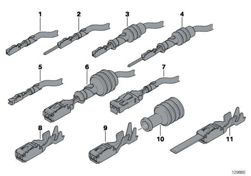 Buchsenkontakt ELO- Power 5,2 x 0,63 1,5-2,5 MM²     1er 3er 5er 6er 7er X1 X3 X5 X6 Z3 Z4 Z8  (61138369642)