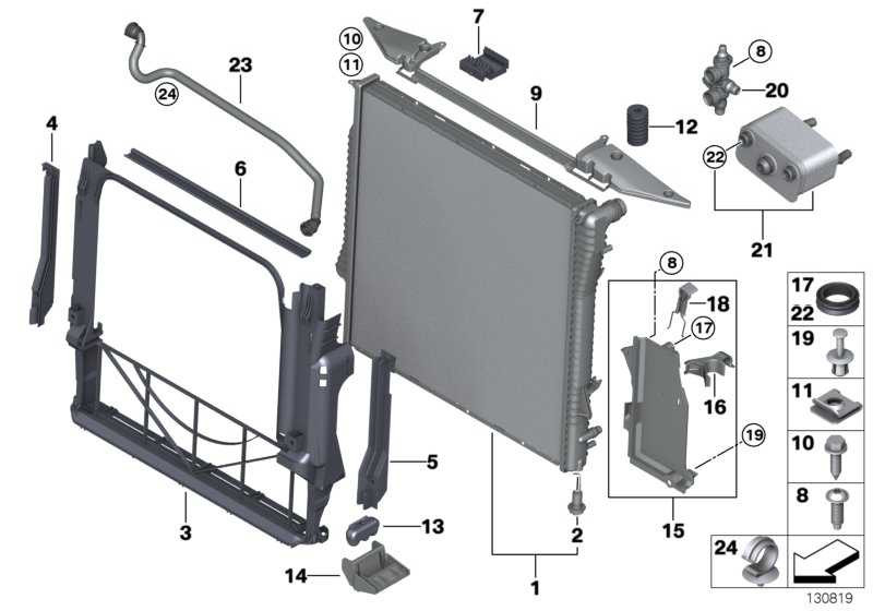 Wärmetauscher  X5  (17227537601)