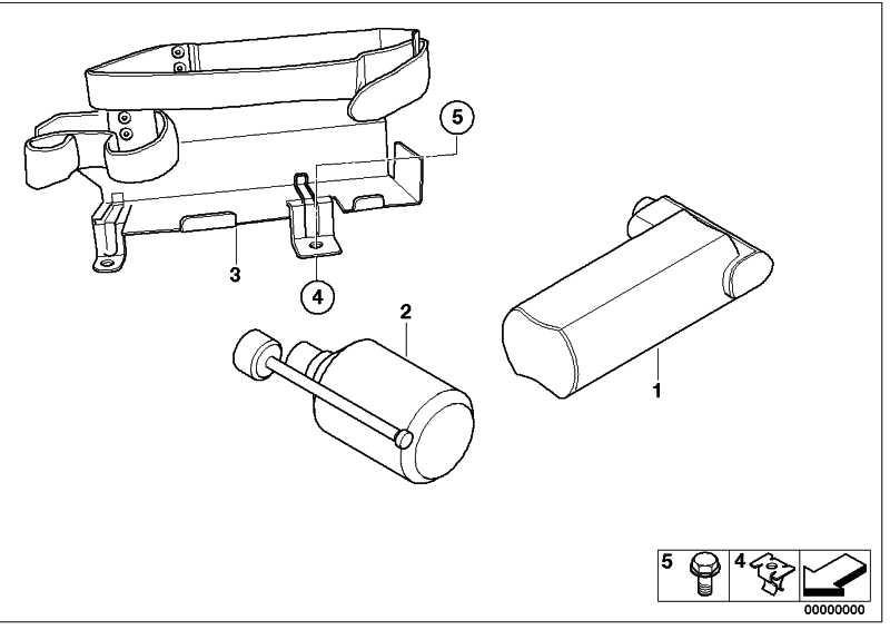 Kompressor Mobility System  1er 3er 5er 6er X1 X3 MINI  (71106792688)