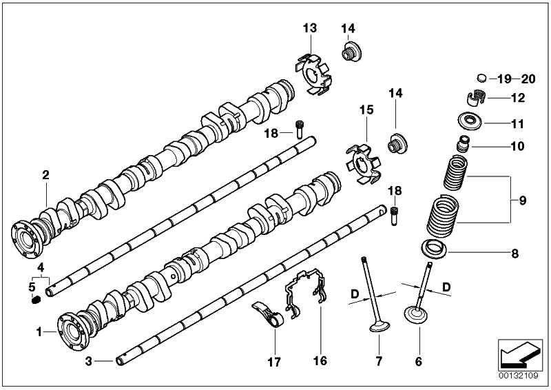 Einlassnockenwelle  3er Z3 Z4  (11317833223)