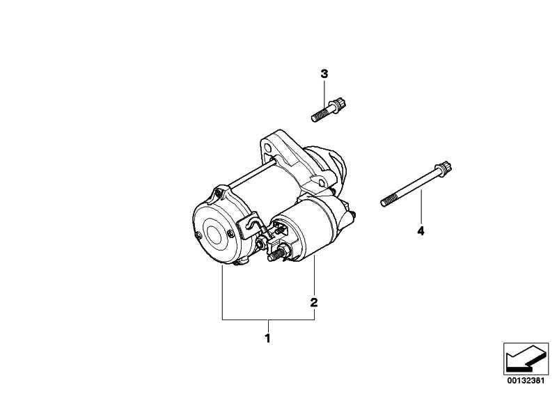 Austausch Anlasser 1,1 KW 1er 3er 5er X1 X3 Z4  (12412354706)