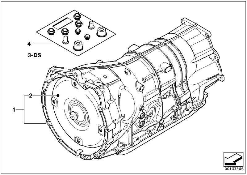 Austausch Automatikgetriebe EH GA6HP26Z        X5  (24007529964)