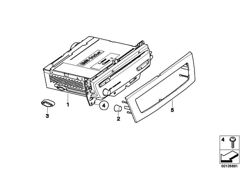 Austausch M-Audiosystemkontroller Navi.  1er 3er  (65129118072)