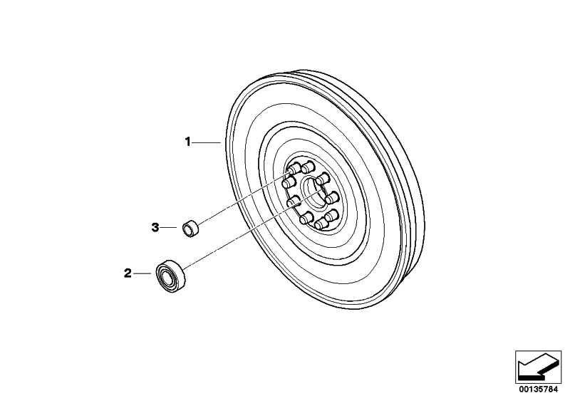Zweimassenschwungrad  5er 6er  (21212229955)