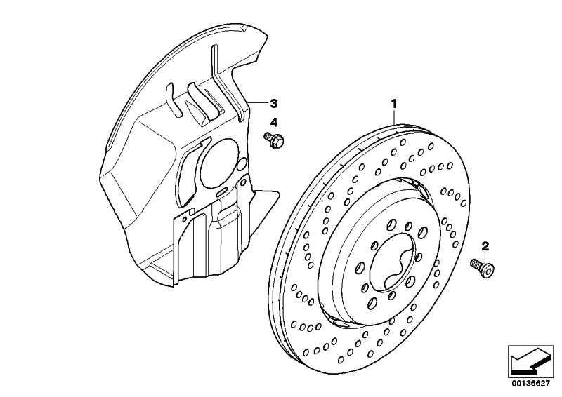 Bremsscheibe belüftet rechts  3er Z4  (34112282446)