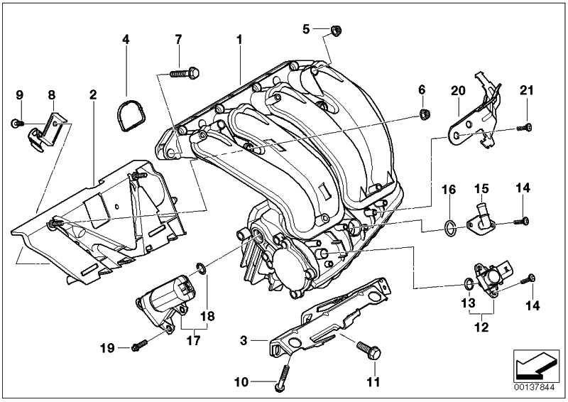 Sechskantschraube mit Scheibe M7X50-U1        1er 2er 3er 4er 5er 6er 7er X1 X3 X5 X6 Z4  (07119903918)