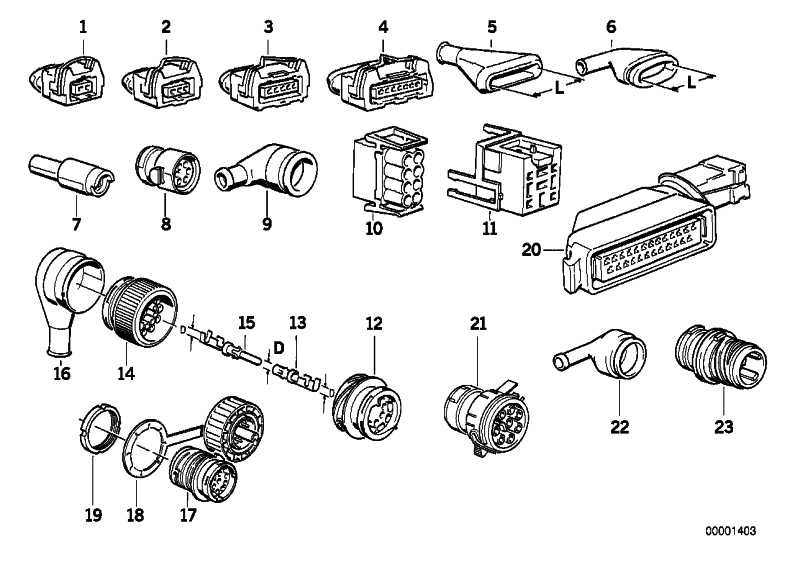 Steckergehäuse 20POL           3er 5er 6er 7er  (12521707283)